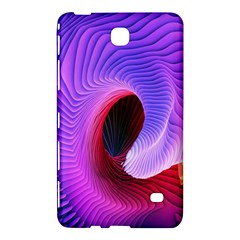 Digital Art Spirals Wave Waves Chevron Red Purple Blue Pink Samsung Galaxy Tab 4 (8 ) Hardshell Case  by Mariart