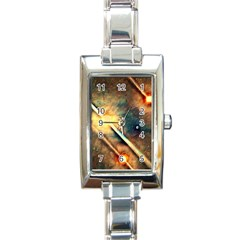 Light Space Rectangle Italian Charm Watch