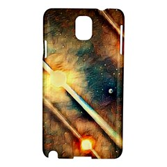Light Space Samsung Galaxy Note 3 N9005 Hardshell Case by DeneWestUK