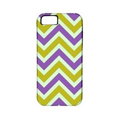 Zig Zags Pattern Apple Iphone 5 Classic Hardshell Case (pc+silicone) by Valentinaart
