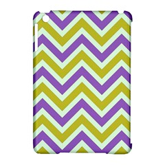 Zig Zags Pattern Apple Ipad Mini Hardshell Case (compatible With Smart Cover) by Valentinaart