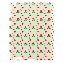 Flower Floral Sunflower Rose Star Red Green Apple Ipad 3/4 Hardshell Case by Mariart