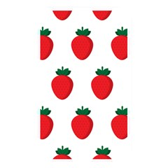 Fruit Strawberries Red Green Memory Card Reader by Mariart