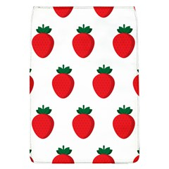 Fruit Strawberries Red Green Flap Covers (l)  by Mariart
