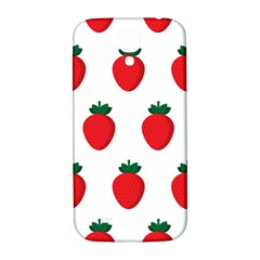 Fruit Strawberries Red Green Samsung Galaxy S4 I9500/i9505  Hardshell Back Case by Mariart