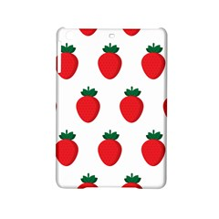 Fruit Strawberries Red Green Ipad Mini 2 Hardshell Cases by Mariart