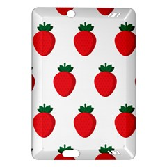 Fruit Strawberries Red Green Amazon Kindle Fire Hd (2013) Hardshell Case by Mariart