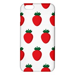 Fruit Strawberries Red Green Iphone 6 Plus/6s Plus Tpu Case by Mariart