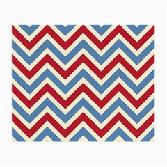 Zig Zags Pattern Small Glasses Cloth (2 Side) by Valentinaart