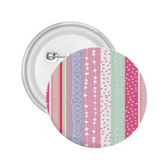 Heart Love Valentine Polka Dot Pink Blue Grey Purple Red 2 25  Buttons by Mariart