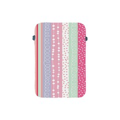 Heart Love Valentine Polka Dot Pink Blue Grey Purple Red Apple Ipad Mini Protective Soft Cases by Mariart