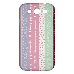 Heart Love Valentine Polka Dot Pink Blue Grey Purple Red Samsung Galaxy Mega 5 8 I9152 Hardshell Case  by Mariart