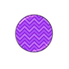 Zig Zags Pattern Hat Clip Ball Marker by Valentinaart