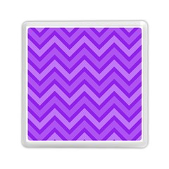 Zig Zags Pattern Memory Card Reader (square)  by Valentinaart