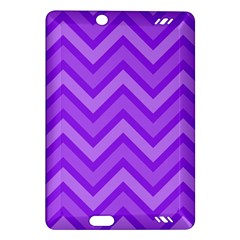 Zig Zags Pattern Amazon Kindle Fire Hd (2013) Hardshell Case by Valentinaart