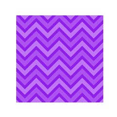 Zig Zags Pattern Small Satin Scarf (square) by Valentinaart