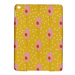 Flower Floral Tulip Leaf Pink Yellow Polka Sot Spot Ipad Air 2 Hardshell Cases by Mariart