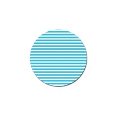 Horizontal Stripes Blue Golf Ball Marker (4 Pack) by Mariart