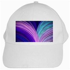 Color Purple Blue Pink White Cap by Mariart