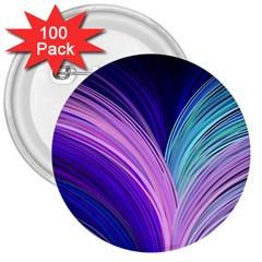 Color Purple Blue Pink 3  Buttons (100 Pack)  by Mariart