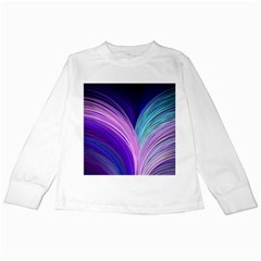 Color Purple Blue Pink Kids Long Sleeve T Shirts by Mariart
