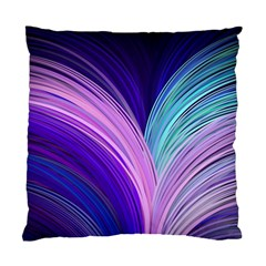 Color Purple Blue Pink Standard Cushion Case (two Sides) by Mariart