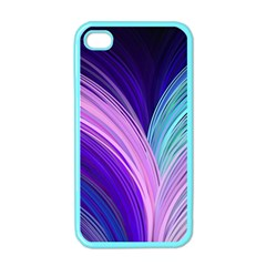 Color Purple Blue Pink Apple Iphone 4 Case (color) by Mariart