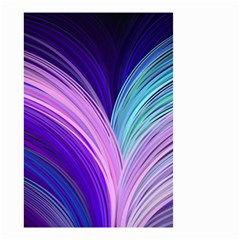 Color Purple Blue Pink Small Garden Flag (two Sides) by Mariart