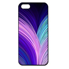 Color Purple Blue Pink Apple Iphone 5 Seamless Case (black) by Mariart