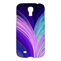 Color Purple Blue Pink Samsung Galaxy S4 I9500/i9505 Hardshell Case by Mariart