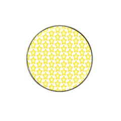 Yellow Orange Star Space Light Hat Clip Ball Marker (4 Pack) by Mariart