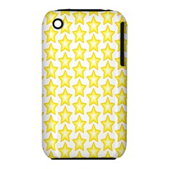 Yellow Orange Star Space Light Iphone 3s/3gs by Mariart