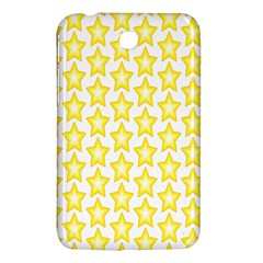 Yellow Orange Star Space Light Samsung Galaxy Tab 3 (7 ) P3200 Hardshell Case  by Mariart