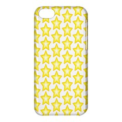 Yellow Orange Star Space Light Apple Iphone 5c Hardshell Case by Mariart