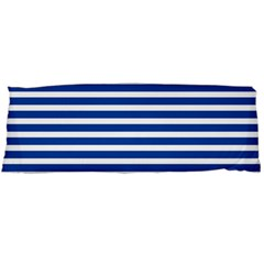Horizontal Stripes Dark Blue Body Pillow Case (dakimakura) by Mariart