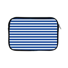 Horizontal Stripes Dark Blue Apple Ipad Mini Zipper Cases by Mariart