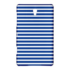 Horizontal Stripes Dark Blue Samsung Galaxy Tab S (8 4 ) Hardshell Case