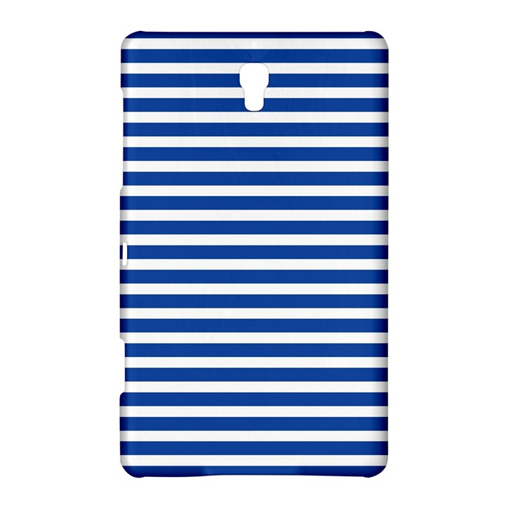 Horizontal Stripes Dark Blue Samsung Galaxy Tab S (8.4 ) Hardshell Case