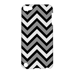 Zig Zags Pattern Apple Ipod Touch 5 Hardshell Case by Valentinaart