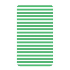 Horizontal Stripes Green Memory Card Reader by Mariart