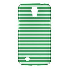 Horizontal Stripes Green Samsung Galaxy Mega 6 3  I9200 Hardshell Case by Mariart