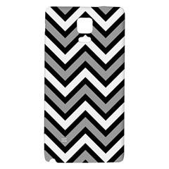 Zig Zags Pattern Galaxy Note 4 Back Case by Valentinaart