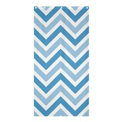 Zig Zags Pattern Shower Curtain 36  X 72  (stall)  by Valentinaart
