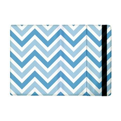 Zig Zags Pattern Apple Ipad Mini Flip Case by Valentinaart