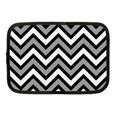 Zig Zags Pattern Netbook Case (medium)  by Valentinaart
