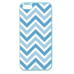Zig Zags Pattern Apple Seamless Iphone 5 Case (color) by Valentinaart
