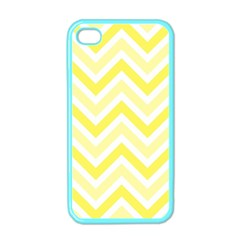 Zig Zags Pattern Apple Iphone 4 Case (color) by Valentinaart