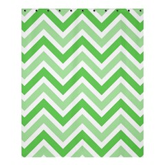 Zig Zags Pattern Shower Curtain 60  X 72  (medium)  by Valentinaart