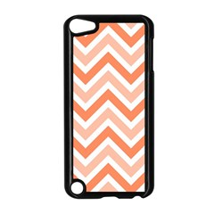 Zig Zags Pattern Apple Ipod Touch 5 Case (black) by Valentinaart