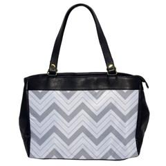 Zig Zags Pattern Office Handbags by Valentinaart
